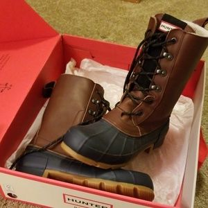 Hunter Pac boots, EUC worn 2 times!